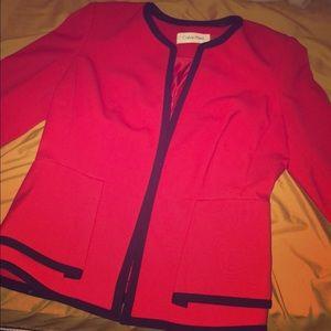 Calvin klein woman's blazer